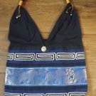 HAND CRAFTED BLUE ELEPHANT SHOULDER BAG QUALITY PRODUCT FROM THAILAND