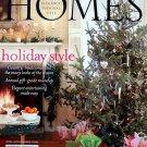 Romantic Homes Magazine December 2007 Back Issue