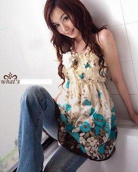 Floral Fashion Top