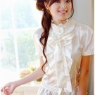 Satin Ribbon Blouse