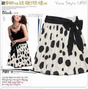 Stylo Skirt with Ribbon