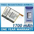 BATTERY FOR ASUS MYPAL A600 MYPAL A600U