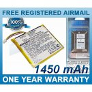BATTERY FOR TYPHOON MYGUIDE 4200 MYGUIDE 4228 MYGUIDE 4228WE
