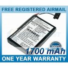 EXTENDED BATTERY FOR MAGELLAN ROADMATE 2000 ROADMATE 2200T ROADMATE 2250T