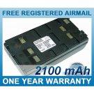 BATTERY FOR PENTAX R100 R200 R300 R-100X R-200X R-300X R-322NX R-322NXM R-325NXM R800 R-202N R225N
