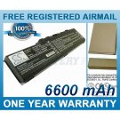 BATTERY FOR TOSHIBA SATELLITE A70 SATELLITE A70-S2362 SATELLITE A70-S249 SATELLITE A70-S2491