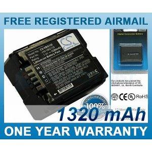 BATTERY FOR PANASONIC HDC-SD9 HDC-HS9 HDC-SD5 HDC-SD1 HDC-SX5 SDR-H60 SDR-H40 SDR-H50 SDR-H41