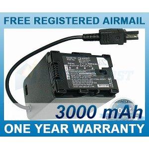 BATTERY FOR JVC GZ-HD620 GZ-HD620BAH GZ-HM330 GZ-MS210 GZ-MG680 GZ-HD500 GZ-HM335 GZ-HM550 GZ-MG750