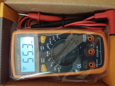 DMM Palm-Size Digital Multimeter / LD-3803B Voltage Vdc Current Iam Ohm Meter