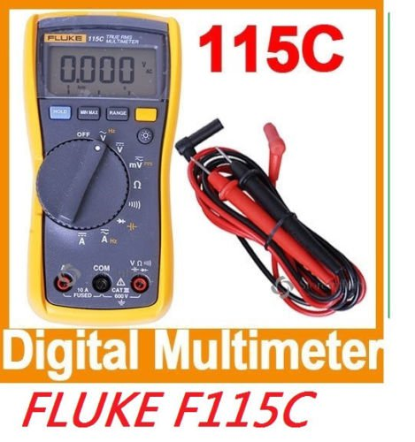 Digital Multimeter True RMS FLUKE F115C 115C F115 Field Test Meter DMM Voltmeter