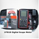 UT81B Digital Scope Meter Multimeter Tester 8MHZ BW 40MSa/s USB PC Software Tool