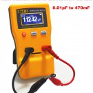 Capacitor Meter Measure Capacitance Cap Tester Auto Range Detection 0.01pF-470mF