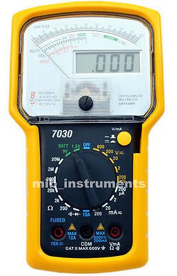KT7030 Analog Digital Dual Display Multimeter DMM Meter Tester Ship from USA