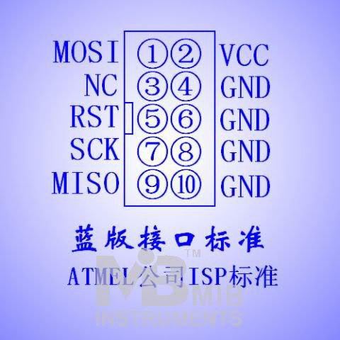 AVR USBASP Programmer ATMEGA ATMEL downloader
