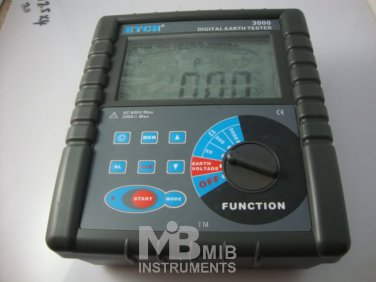 ETCR3000 Clamp On Ground Earth Resistance Tester Meter
