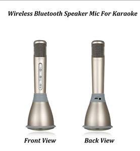 KTV Microphone Wireless Bluetooth Karaoke Mic Speaker Perfect Singing Songs