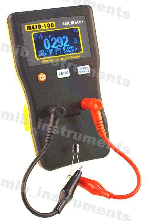 MLC500 Auto Range LC Meter + MESR100 In Circuit ESR Cap Capacitor Meter Tester