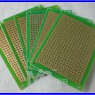 FR4 5x7cm Prototyping DIY PCB Board Prototype x6pcs