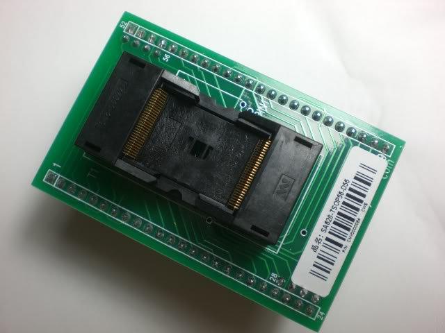 TSOP56 TO DIP 56 TSOP 56  D56 Adapter Socket SA628 -B102