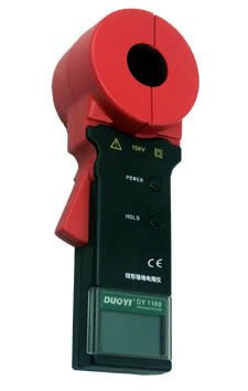 DY1100  Clamp On Ground Earth Resistance Tester Meter