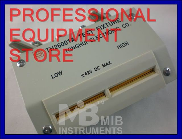 TH26001A 4 terminal test fixture for LCR meter TH2811D