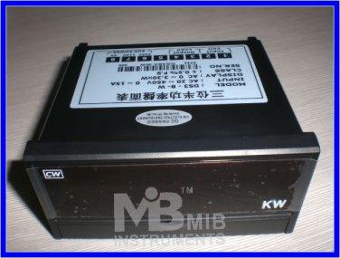 3 1/2 2000w Digital watt meter Manual LED Panel meter
