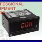 New 3 1/2 AC200V Digital Voltmeter Panel Meter