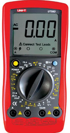UT58D Standard Electrical Meter Digital Multimeter