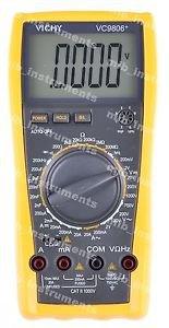 DMM VICHY VC9806A Digital Multimeter Electrical Meter