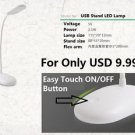LED Table Desk Lamp 2.5W USB Power Light Bright LED Study Reading Lamp Stand