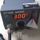 AT969D Soldering Station w/LCD temperature displaly New