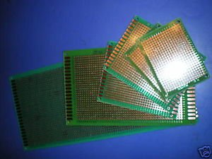 FR4 Prototyping PCB DIY Board Prototype 1.5mm Thickness Total 6pcs of 4 sizes