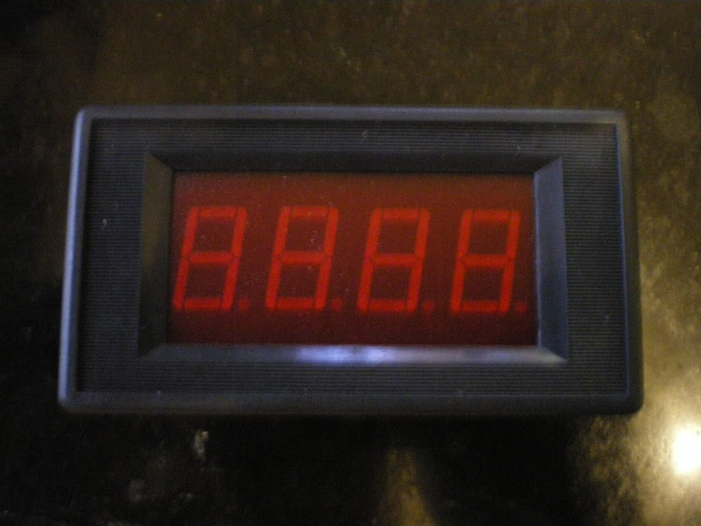 Digital 200V DC Voltage Panel Meter Voltmeter
