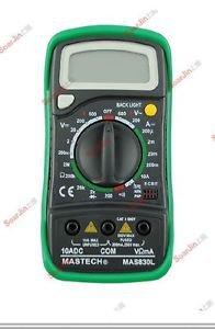 MASTECH MAS830L Palm Size Digital Multimeter DMM