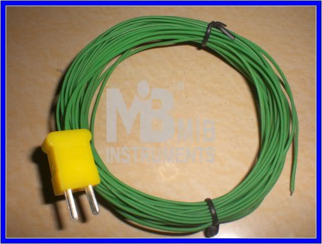 10M Temperature Sensor Probe K Type 200°C