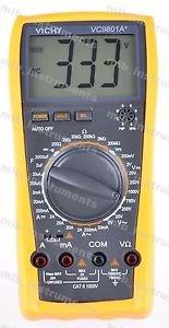 DMM VICHY VC9801A Digital Multimeter Electrical Meter