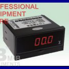 New 3 1/2 DC600V Digital Panel meter Voltmeter Meter