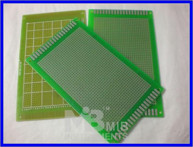 FR4 9x15cm Prototyping PCB Board Prototype DIY Kit x5pc