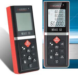 S2 Pocket Size Handheld Laser Range finder 60M Distance meter laser rangefinder