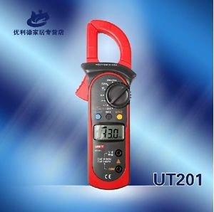 UT201 Digital Clamp Meter Multimeter DMM Electric Tools Upto 600V
