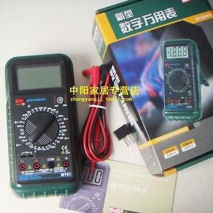 Mastech MY61 3 1/2 Digital Multimeter DMM AC/DC/Ω/uF