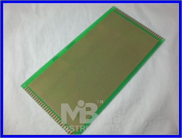 FR4 13x25cm Prototyping PCB Board Prototype DIY KIT x5p