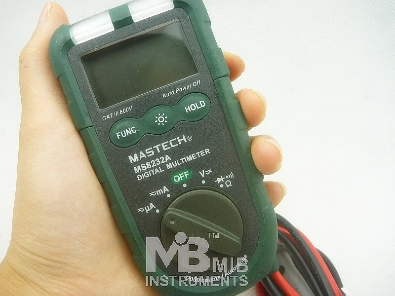 NEW MS8232A Mini Auto range Digital Multimeter Non-contact voltage detection DMM