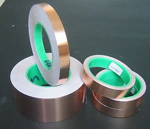 15mm x 30Meter Copper Foil Adhesive Tape Insulation / RF / EMI Shield Shielding