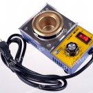 CM360A Round Solder Pot Soldering Desoldering Bath 110V