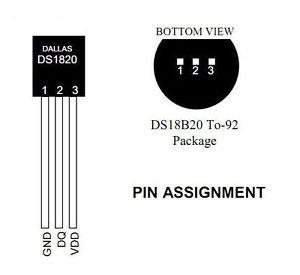 10pcs DALLAS 18B20 DS18B20 TO-92 Wire Digital Thermometer Temperature IC Sensor