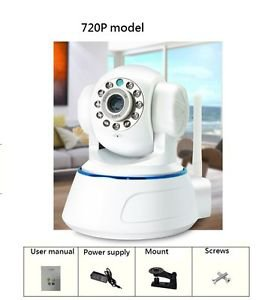 IP Camera IPCAM Wireless WiFi Webcam Home Security HD 720P 3.6mm Motion Control