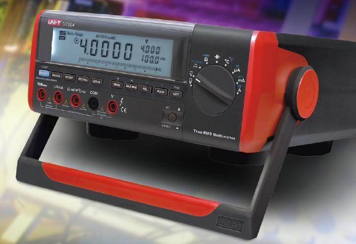 Workbench Digital Meter 39999-Digit Autoranging Bench Top Multimeter UT804