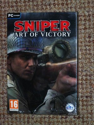 Sniper: Art Of Victory PC  New&sealed