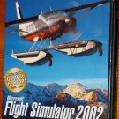 MICROSOFT FLIGHT SIMULATOR 2002 AS REAL AS IT GETS   PC